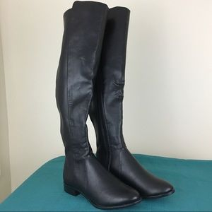 NWT A New Day Breanna Over The Knee Riding Boots